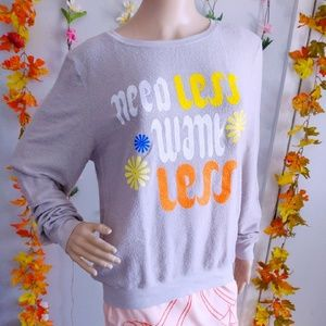 NWT WILDFOX DREAM SCENE SWEATSHIRT VINTAGE